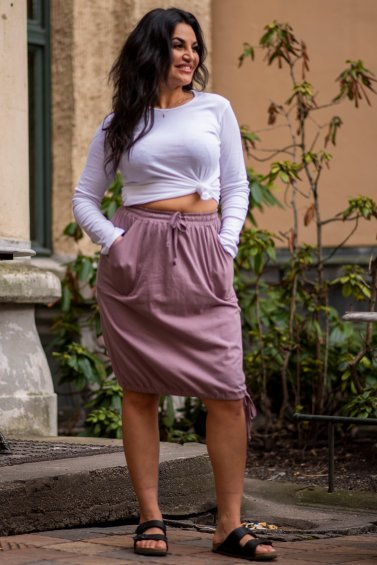 Bubble Skirt Purple