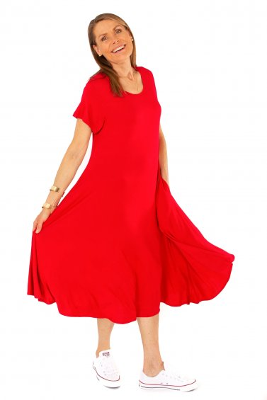 Ballerina Dress Red